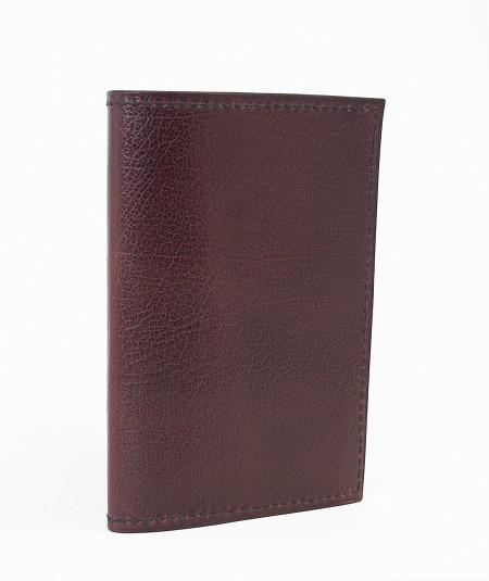 protège-passeport voyageur lamaro bordeaux extérieur