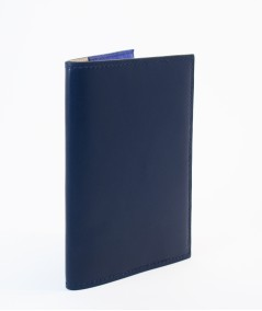 protège-passeport voyageur lamaro bleu nuit extérieur