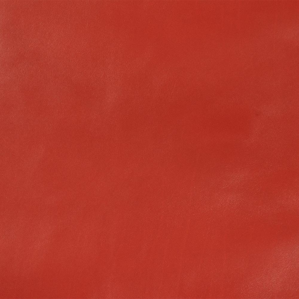 cuir de veau lisse rouge